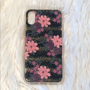 Floral IPhone X Phone Charger